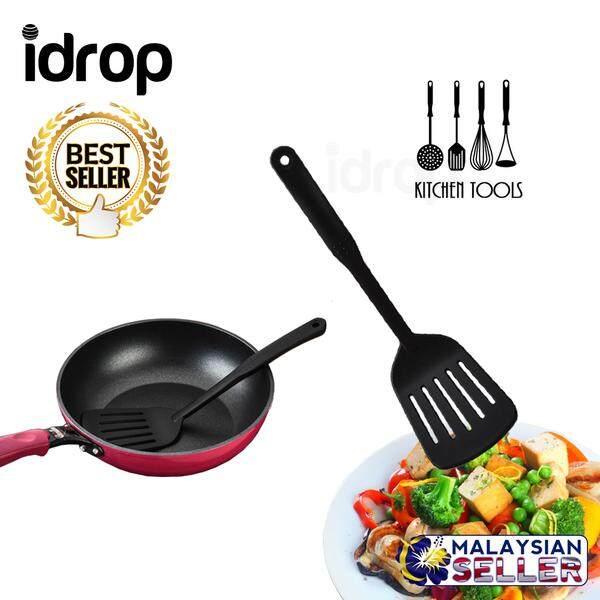idrop High Quality Kitchenware Non-Stick Slotted Spatula for Kitchen  Utensils