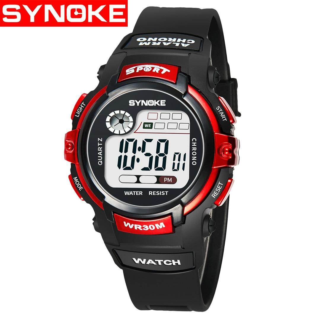 SYNOKE Children Digital Watch Kids Watches Girls Boys Clock Child Sport Wrist Watch for Girl Boy Surprise Gift Dropshipping 99569 Malaysia