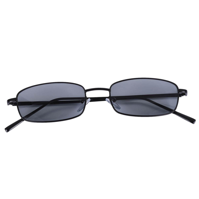 Sunglasses Buy At Best Price In Malaysia Lazada Kacamata Magnet 5 1 Vintage Women Men Rectangle Glasses Small Retro Shades S8004 Black Frame Grey