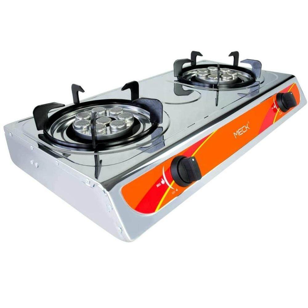 Meck Stainless Steel 7 Jet Burners Gas Stove Cooker Mgs 5501ay