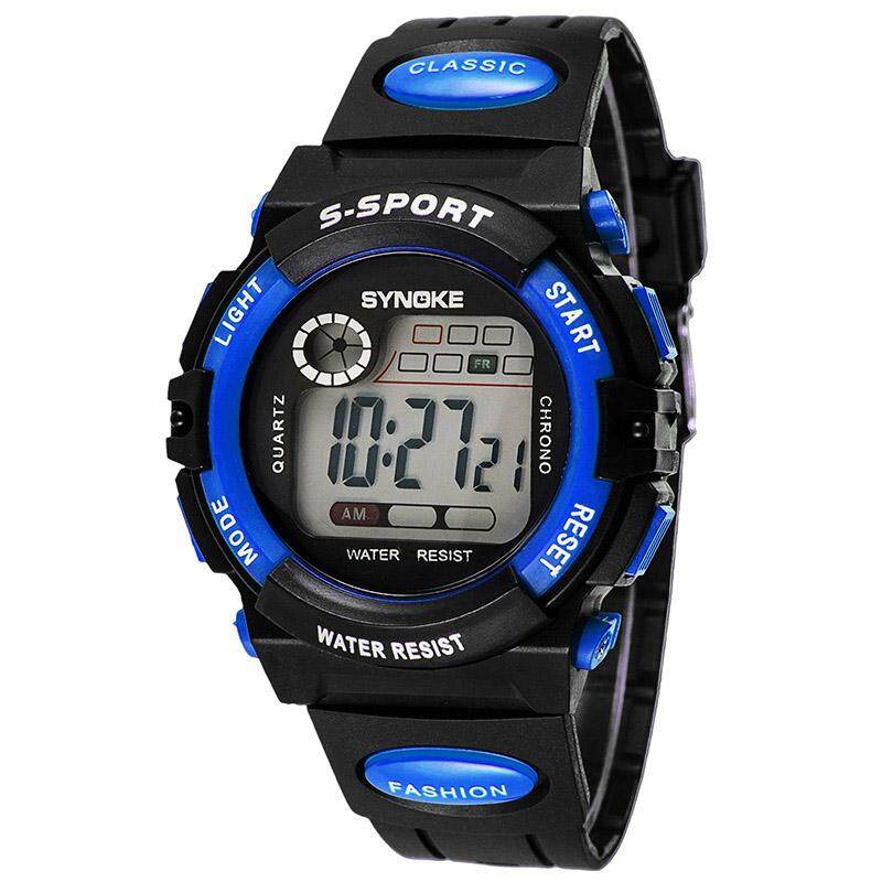 SYNOKE Christmas Gift Children Watch Sports Watches Waterproof LED Digital Wristwatches Kids Clocks Relogio Masculino