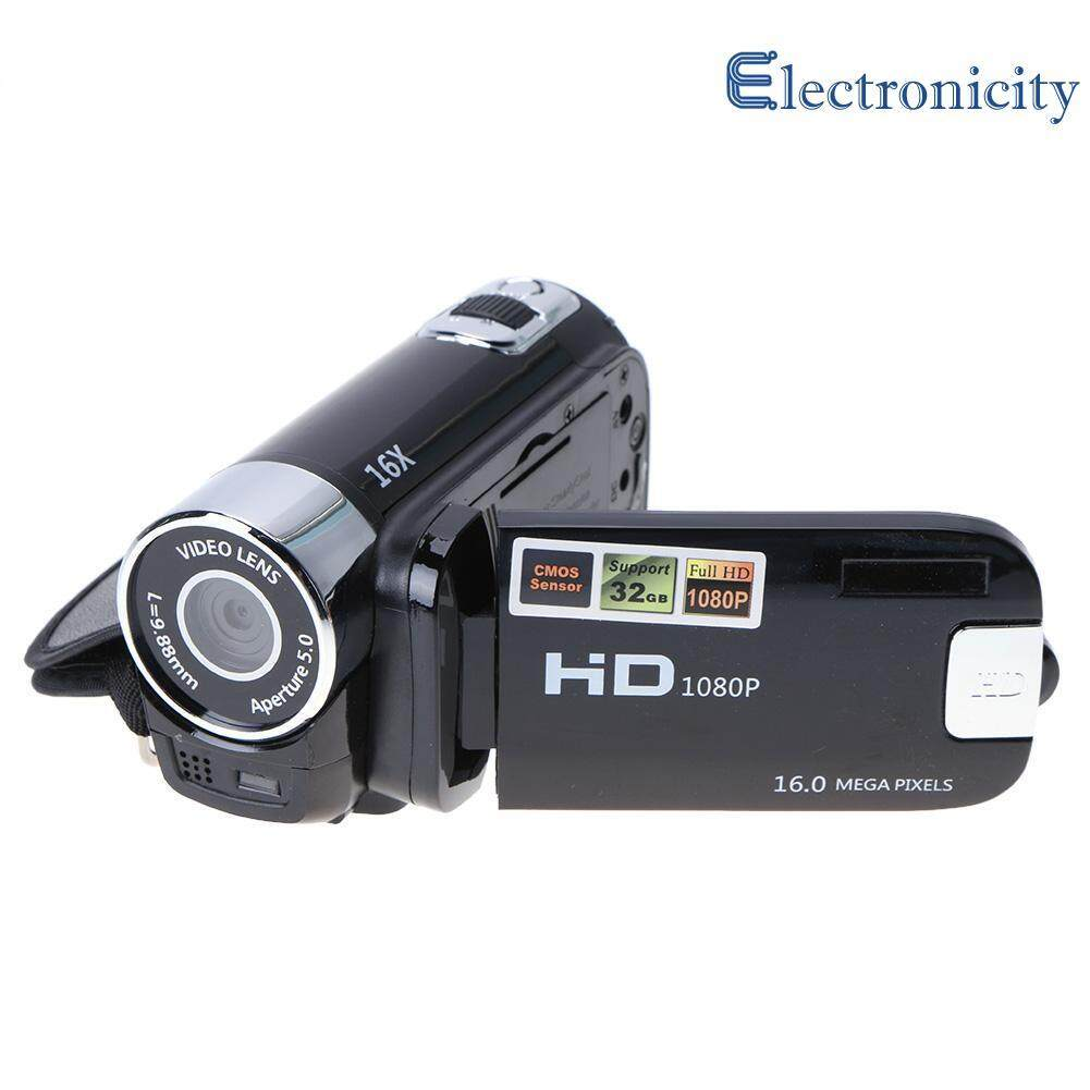 New Digital Video Camera Full Hd 1080p 32gb 16x Zoom Mini Camcorder Dv Camera ( Red ) By Electronicity.