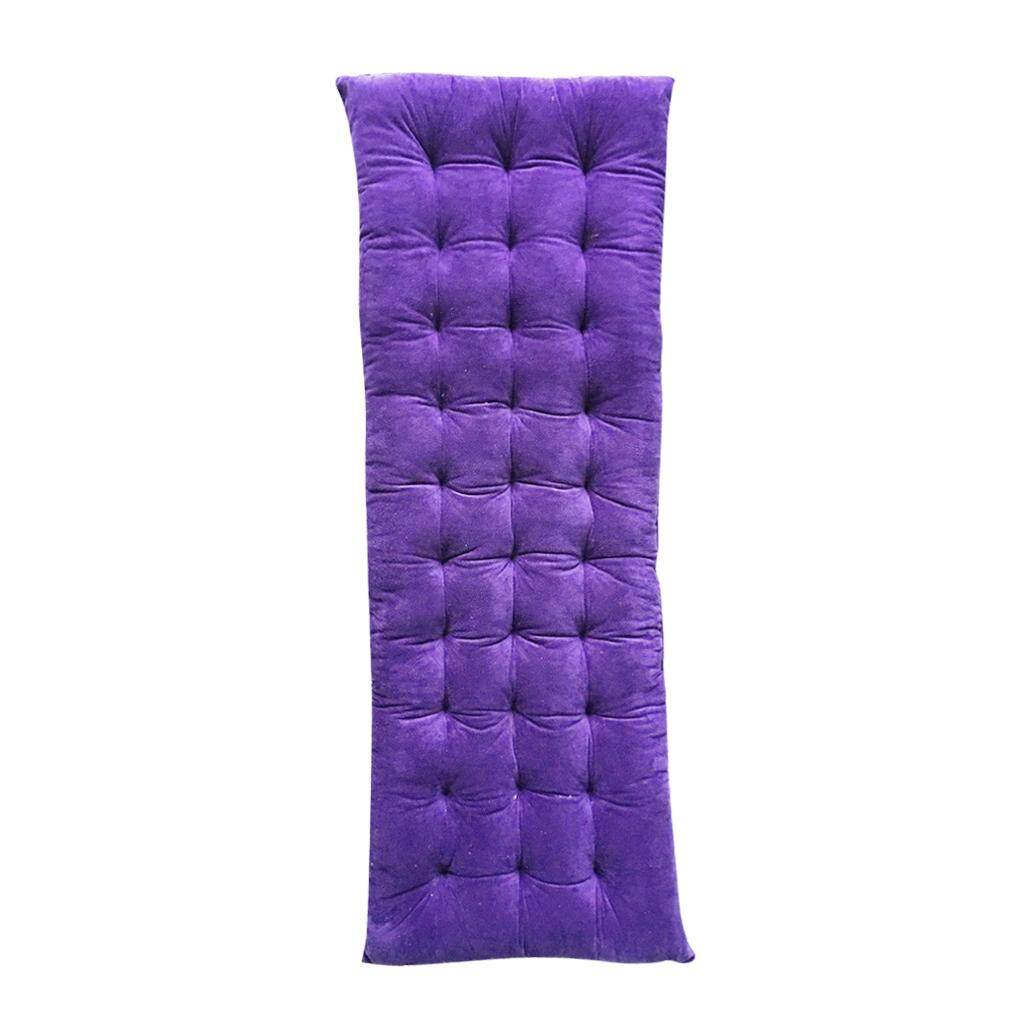 MagiDeal Winter Lounge Chair Pad Thickened Non-slip Rattan Sofa Cushion Violet