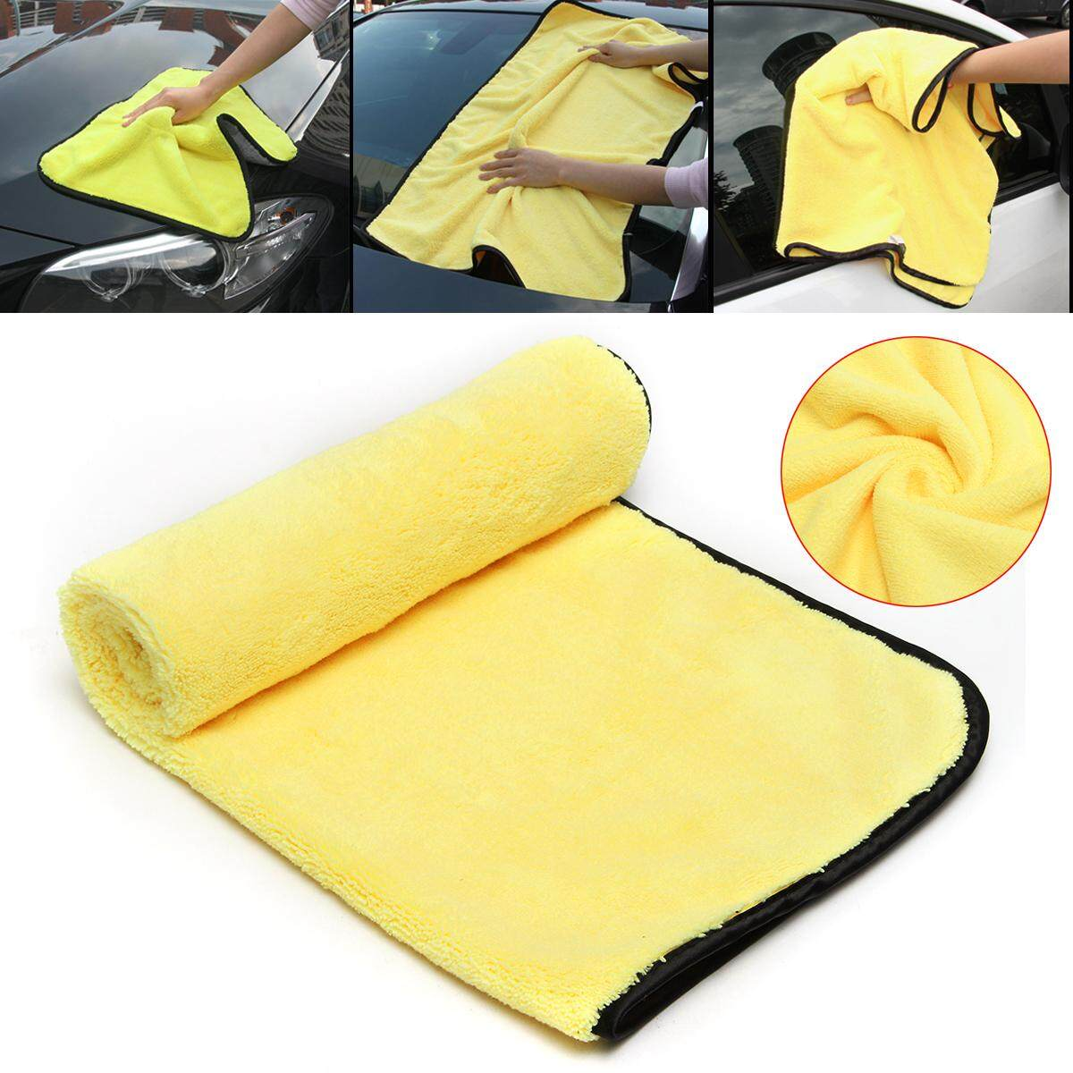 92cm x 56cm Large Size Microfiber Cleaning Cloths Car Auto Drying Wash Towels