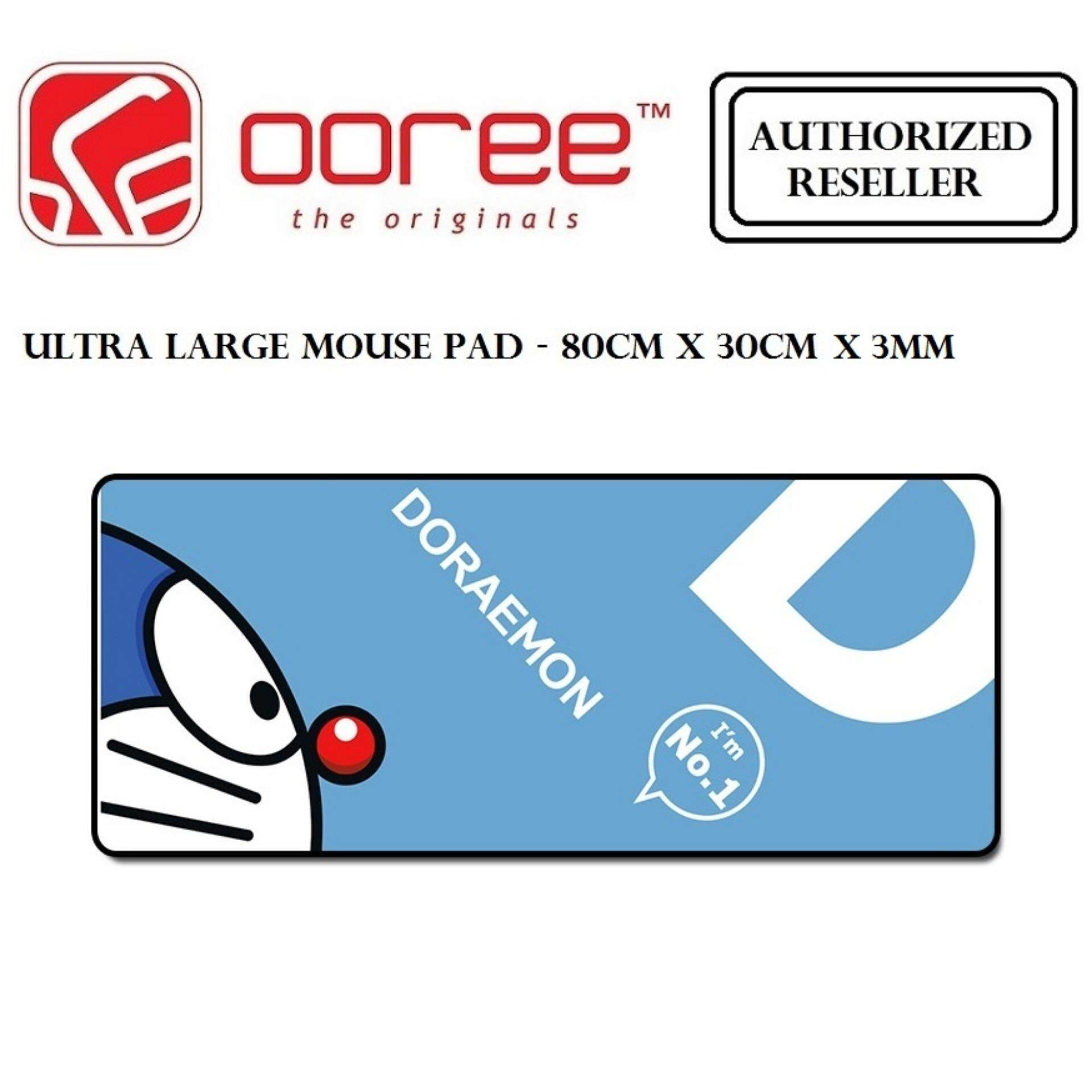 ULTRA LARGE ANTI-FLIP RUBBER SOFT TEXTILE GAMING MOUSE PAD - 80CM X 30CM x 3MM Malaysia