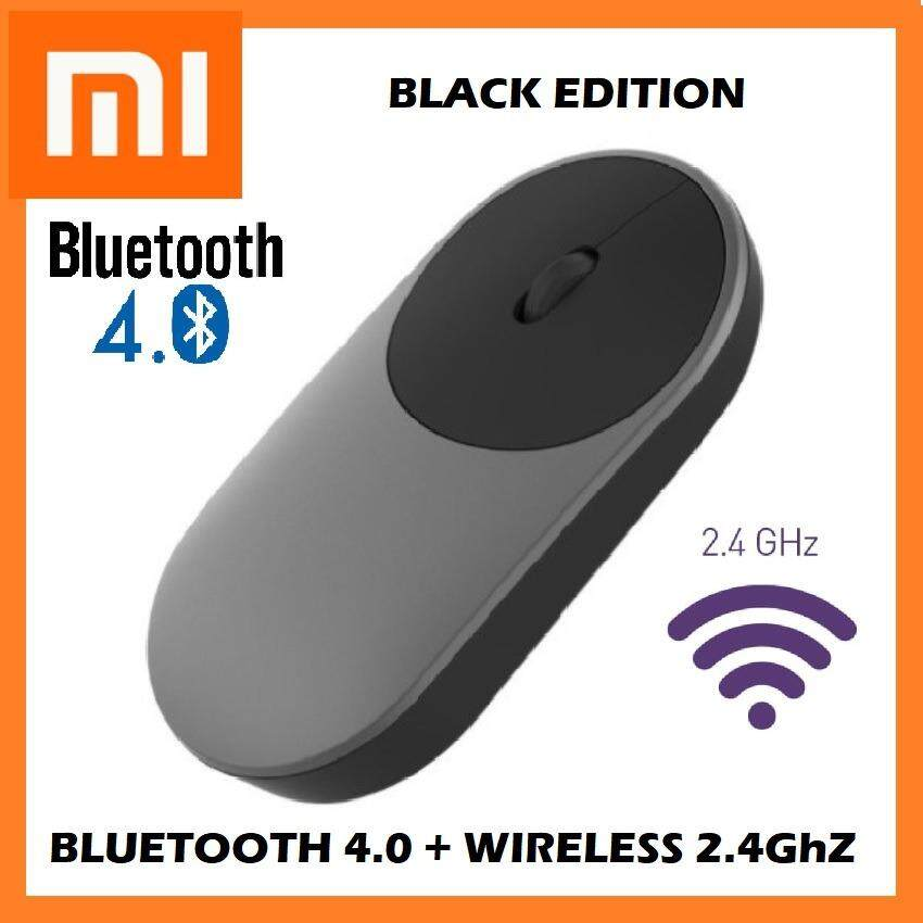[GENUINE] 2019 XIAOMI Mi Portable Mouse Bluetooth + 2.4G Wireless Aluminium Dual Mode Laptop Desktop Malaysia
