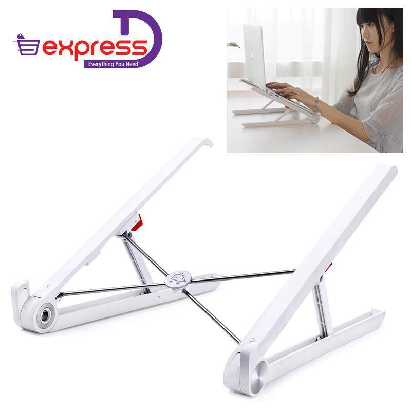 Portable Laptop Stand Foldable Adjustable Notebook Holder Laptop Stand For Desk Adjustable Portable Cooling Lightweight Compact Universal Fit For Pc Macbook Computer By Express D.