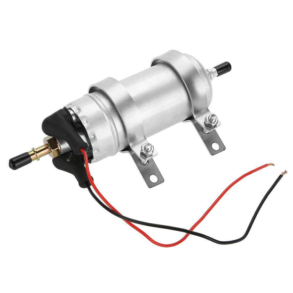 Fuel Pumps Buy At Best Price In Malaysia Lazada Universal Electric Pump Wiring Schematic Justgogo Motorcycle Refit Gas Diesel Inline With Stainless Steel Bracket 25 3