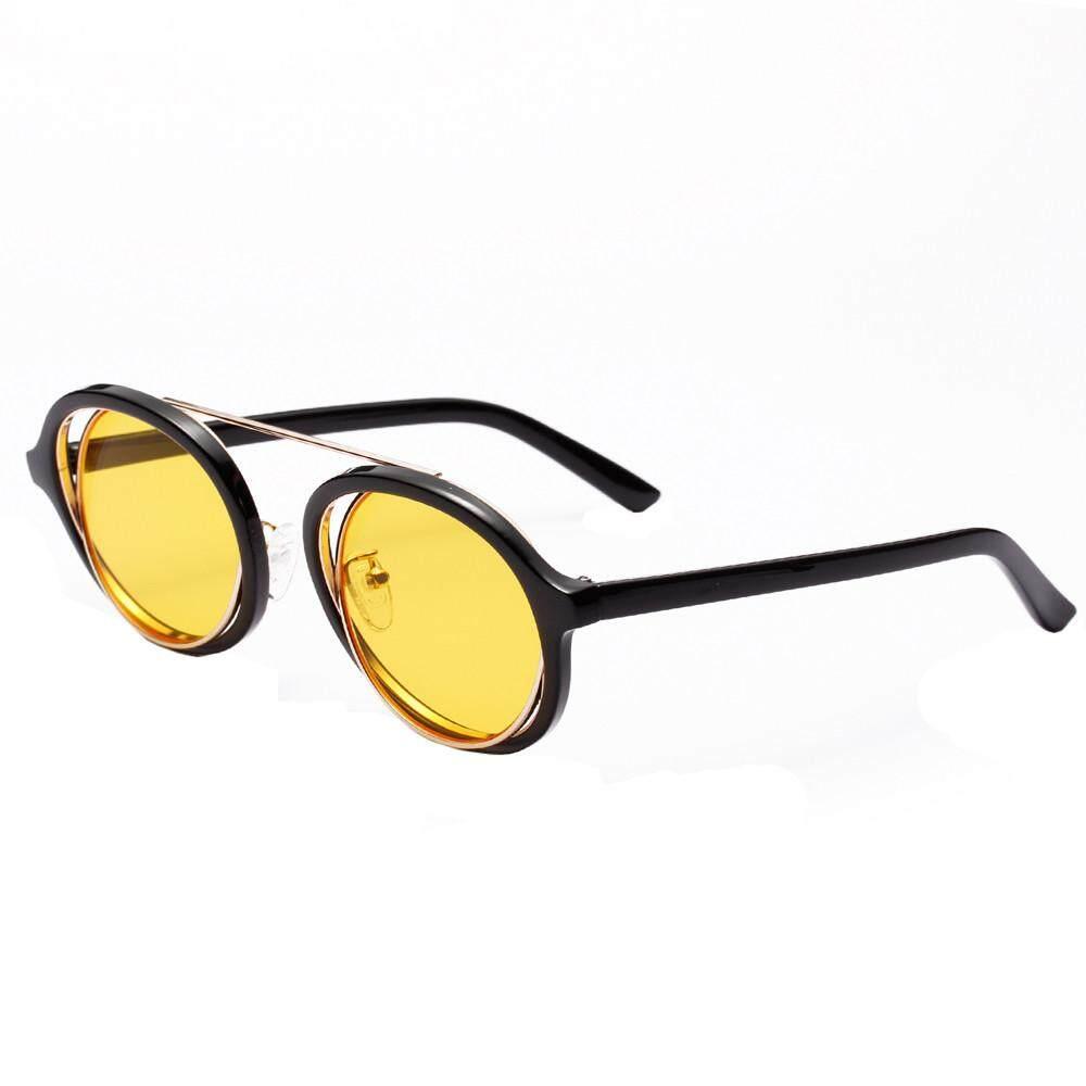 8623b3dff664c Tuckerstore-Fashion Men Womens Retro Vintage Round Frame UV Glasses  Sunglasses