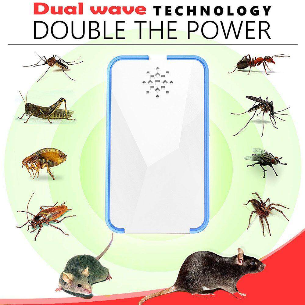 Home Electric Insect Killers Buy At How To Build An Electronic Mosquito Repeller Circuit Chux Uk Plug Ultrasonic Pest Rejector Mouse Rat Repellent Anti