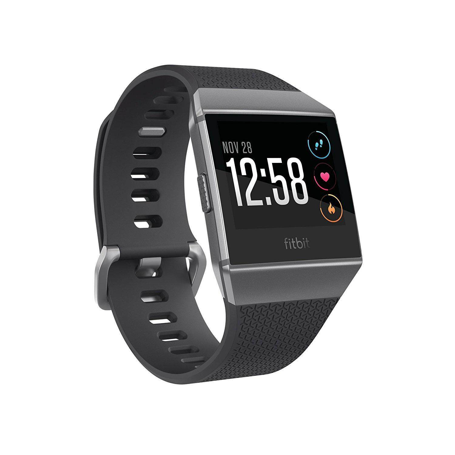 Branded Fitbit Products With Best Online Price In Malaysia Smartwatch M2 Smartband Heart Mirip Xiaomi Mi Band Ionic Charcoal Smoke Gray One Size S L Bands