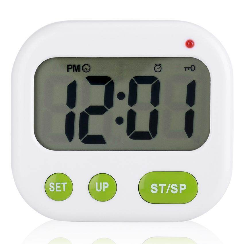 ee5791bb5 epayst Music Vibration Digital LCD Alarm Clock Electronic Kitchen Timer  with Backlight
