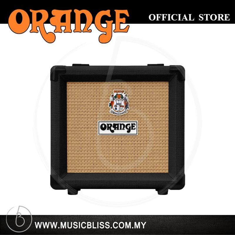 Orange PPC108 20-watt 1x8 Speaker Cabinet - Black Malaysia