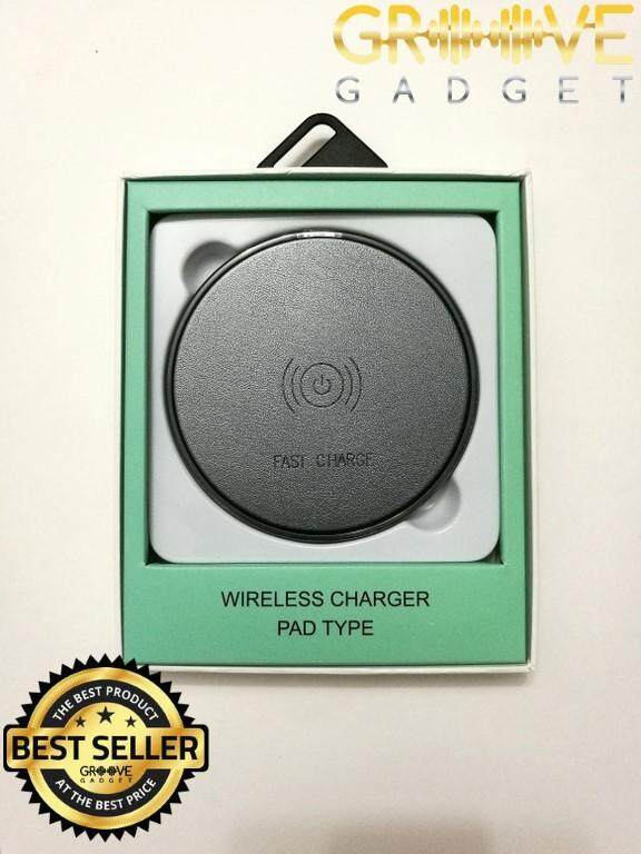 Fast Charge Wireless Charger Pad Type By Groove Gadget.