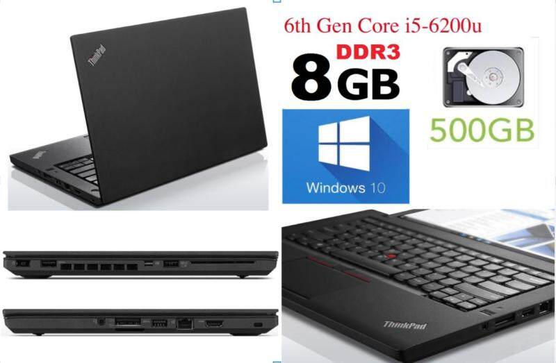 Lenovo Thinkpad T460 8GB RAM Used Laptop Gen 6th i5 Win 10 (Refurbished) Malaysia