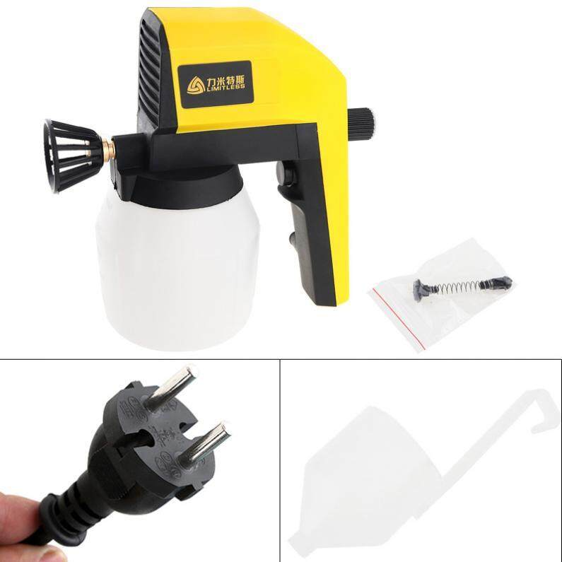 220V 100W Electric Spray Gun with Adjustable Flow Control and 2 Meter Cable for Automotive Parts / Steel Furniture