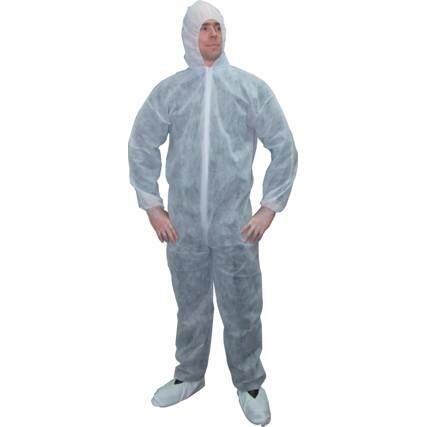 DISPOSABLE COVERALL BLUE(L) SSF9621250D