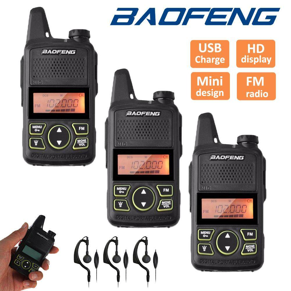 Baofeng Buy At Best Price In Malaysia Ht Bf Uv5r Dual Band Uhf Vhf Walkie Talkie 3 X T1 Mini Two Way Radio 400 470mhz 20
