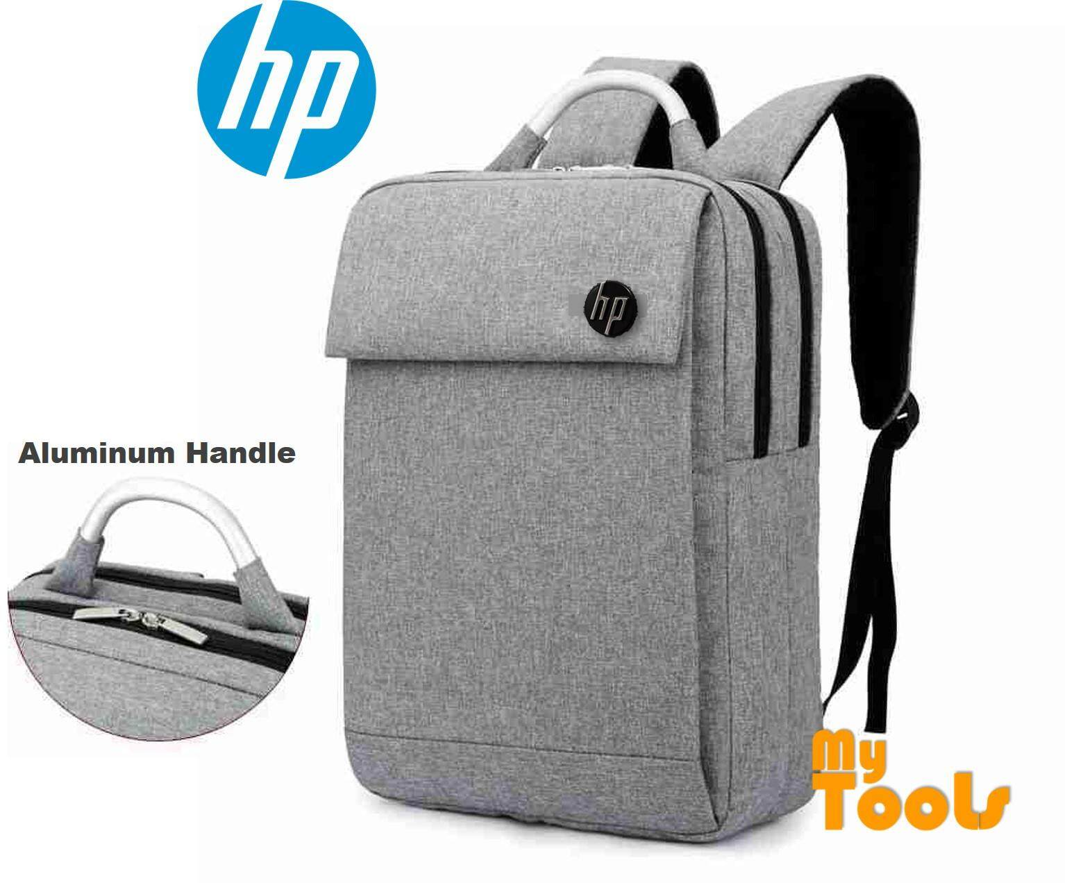Hp Notebook Laptop 15 6 Inch Double Layer Backpack Bag Aluminium Handle