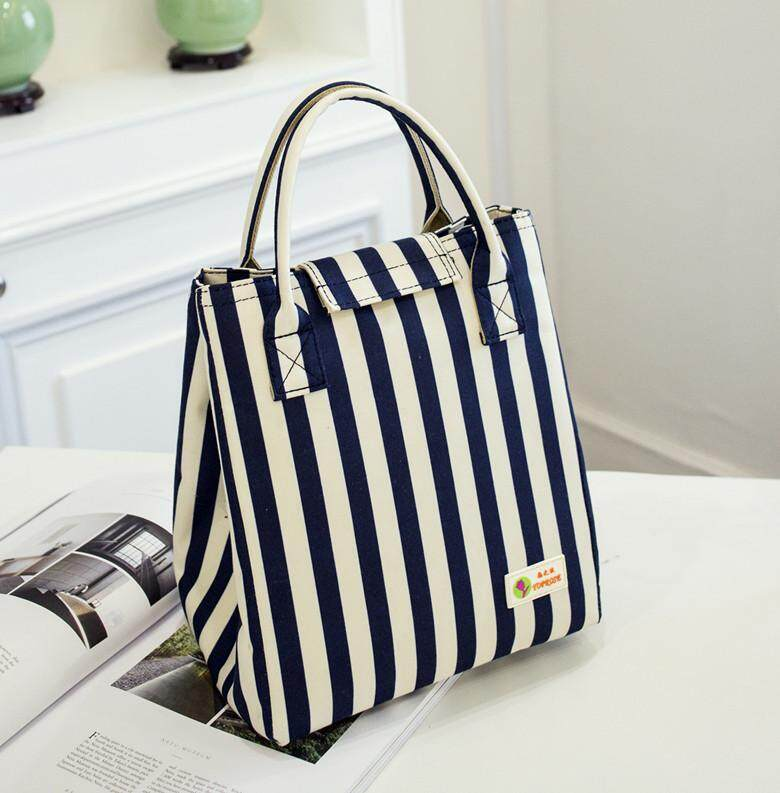 Waterproof Lunch Bag for Women kids Men Cooler Lunch Box Bag Tote canvas lunch  bag Insulation e1cf7ceb8609c