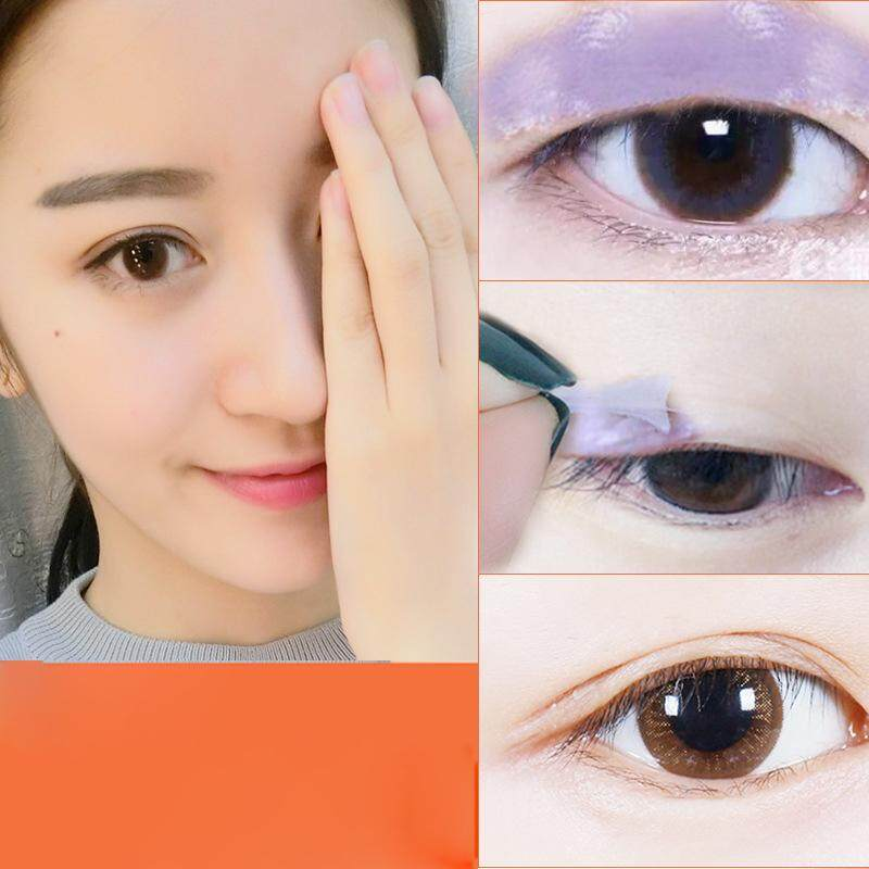 (Ready Stock)Rotary Double Eyelid Gel Cream Double Head Eyelids Pen  Invisible Eyelids Glue Long lasting Magical Eye Lids Cream Makeup Tool