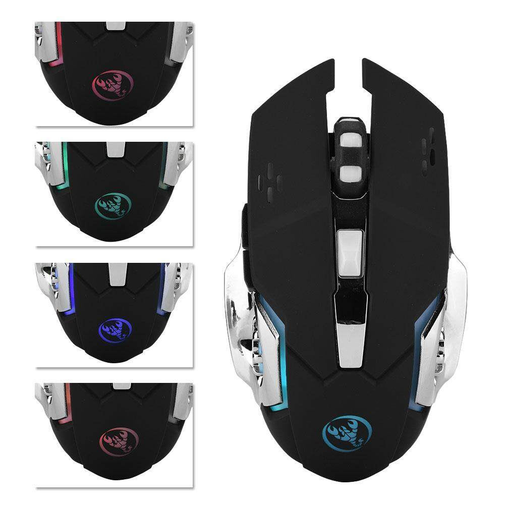 【Clearance Sale】Justgogo M70 2400DPI 2.4GHz Wireless Ergonomic Optical Gaming Mouse for PC/ Laptop Malaysia