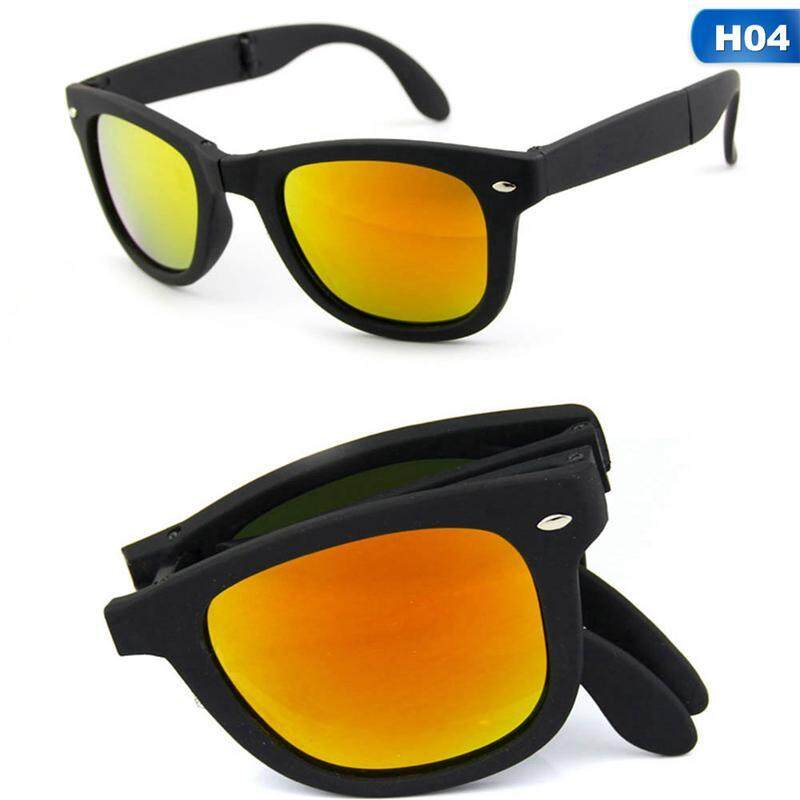 SYS Foldable Sunglasses with Box Original Folding Glasses Men Women Brand Design Sun Glasses H04 Malaysia