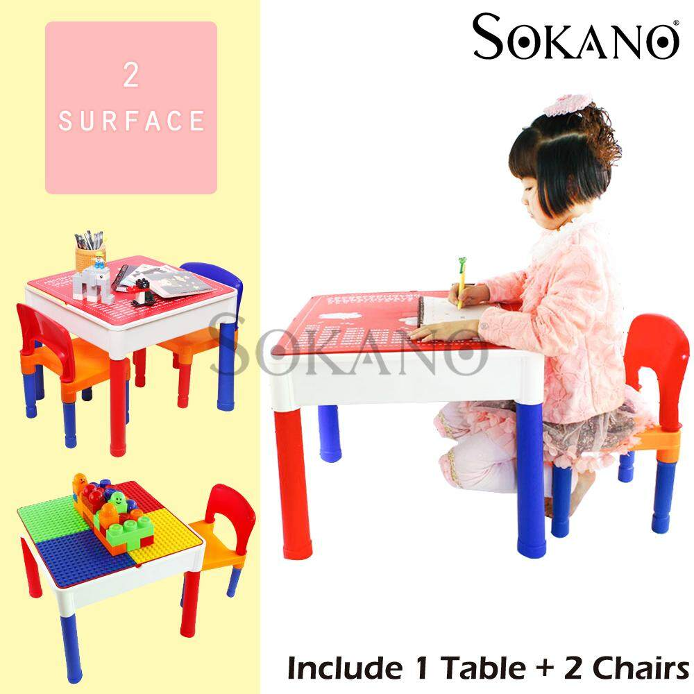 Sokano Ar811 3 In 1 Learning Desk And Play For Kids Include Table