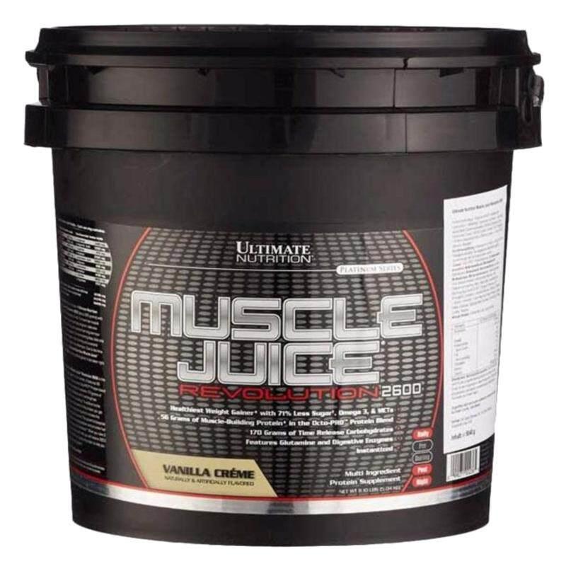 Ultimate Nutrition Muscle Juice Rev2600 Vanilla11Lbs