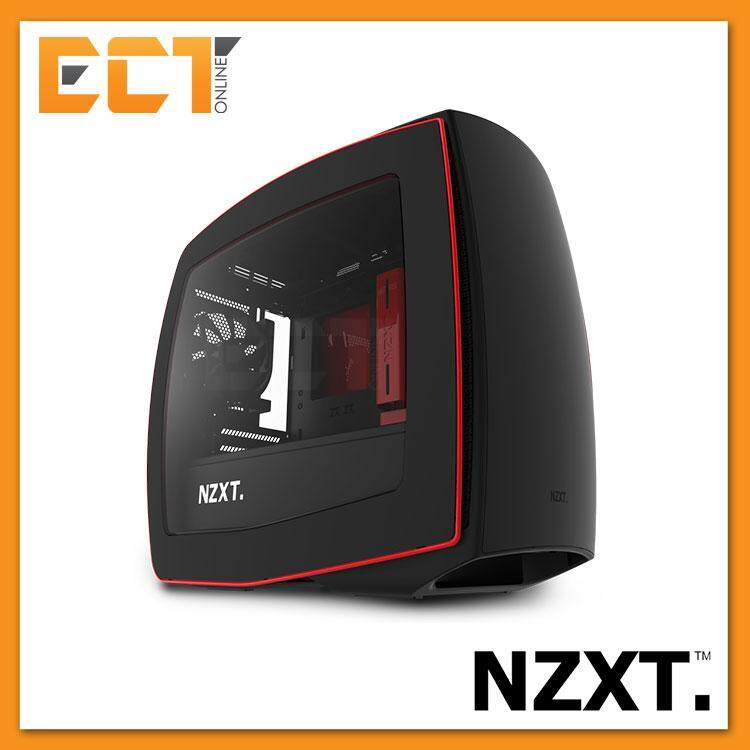 NZXT Manta High-Performance SFF Mini ITX Case / Chassis - Black/White/Red Malaysia