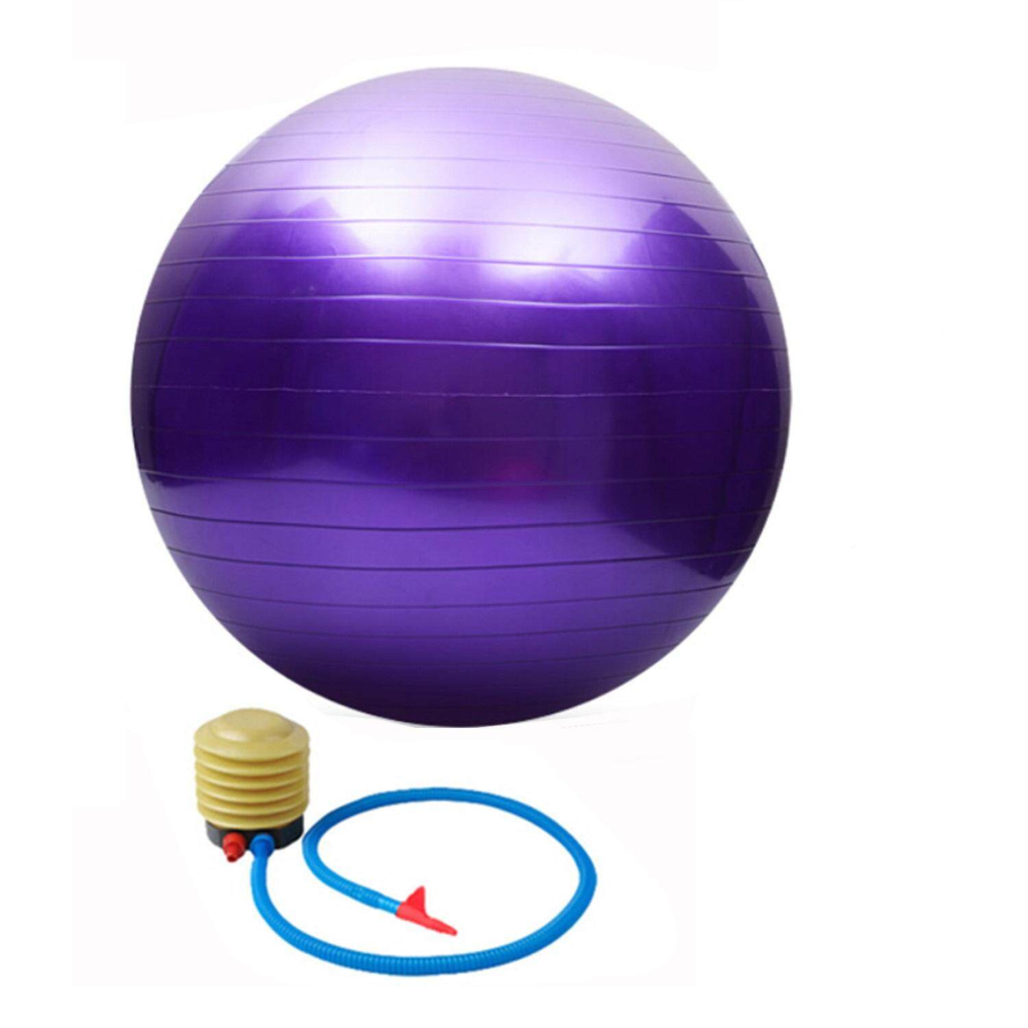 Exercise Ball 75cm Anti Burst: 75CM High Quality Gym Fitness Ball Anti-burst Yoga