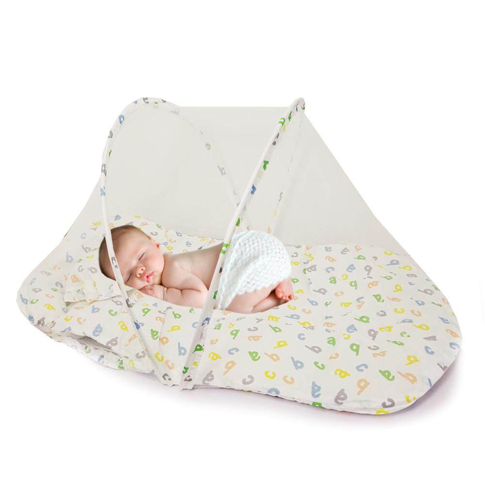 Good Quality!! New Design Cute Modern Sweet Portable Kelambu Baby Happy Baby Bed Cradle Bed Mosquito Insect Net Infant Cushion Mattress Cute Pillow Children Gift Toy Bedsheet : Babymart.my By Babymart.my.