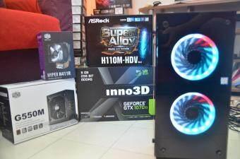 PC GAMING 4K Spec ( Intel Core i7 7700 / 16GB RAM / GTX 1070 Ti 8GB / 240GB SSD )