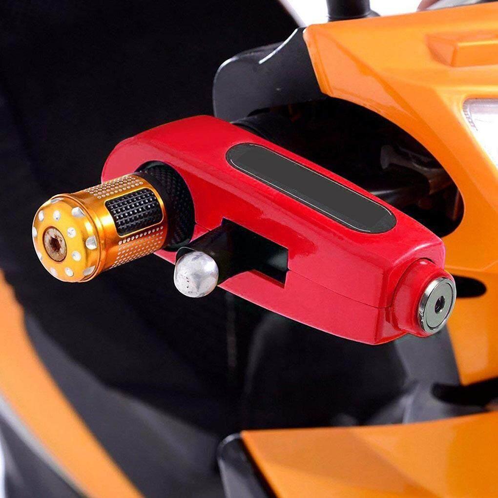 Motorcycle/atv/handlebar Grip Lock Anti-Theft Brake Lever Security Lock Throttle Grip Lock By Topfire.