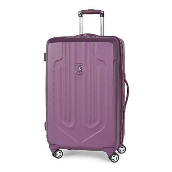 ✓Dengan barang Atlantic Luggage Ultra Lite 25 Exp Hardside Spinner ... 938f3c8264
