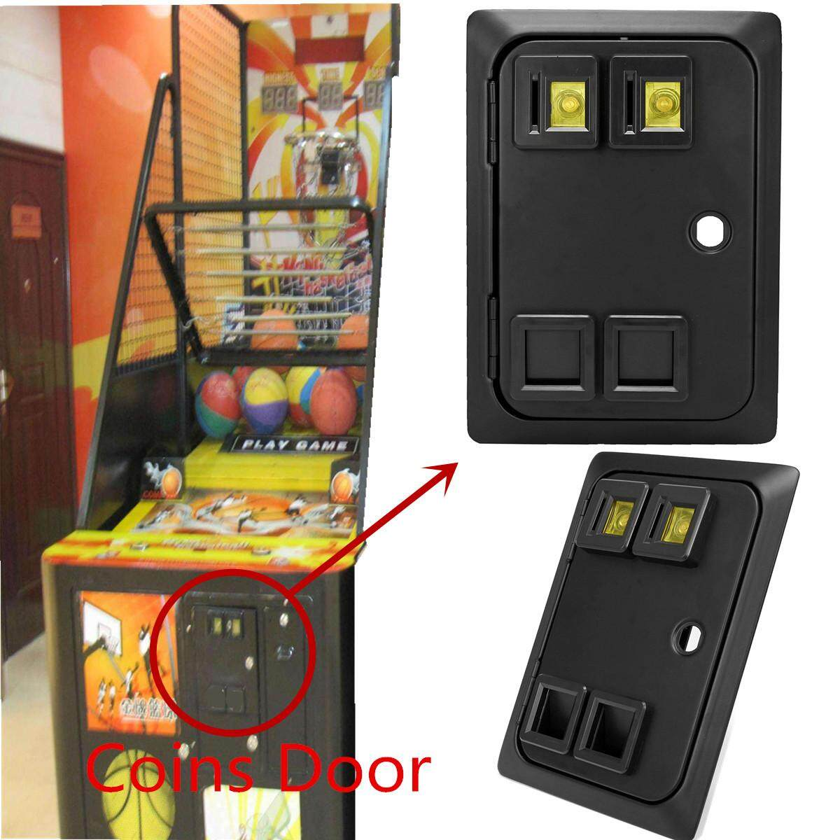 Arcade Game Coin Door with mechanical coin selector for Mame Jamma +Org Cabinets