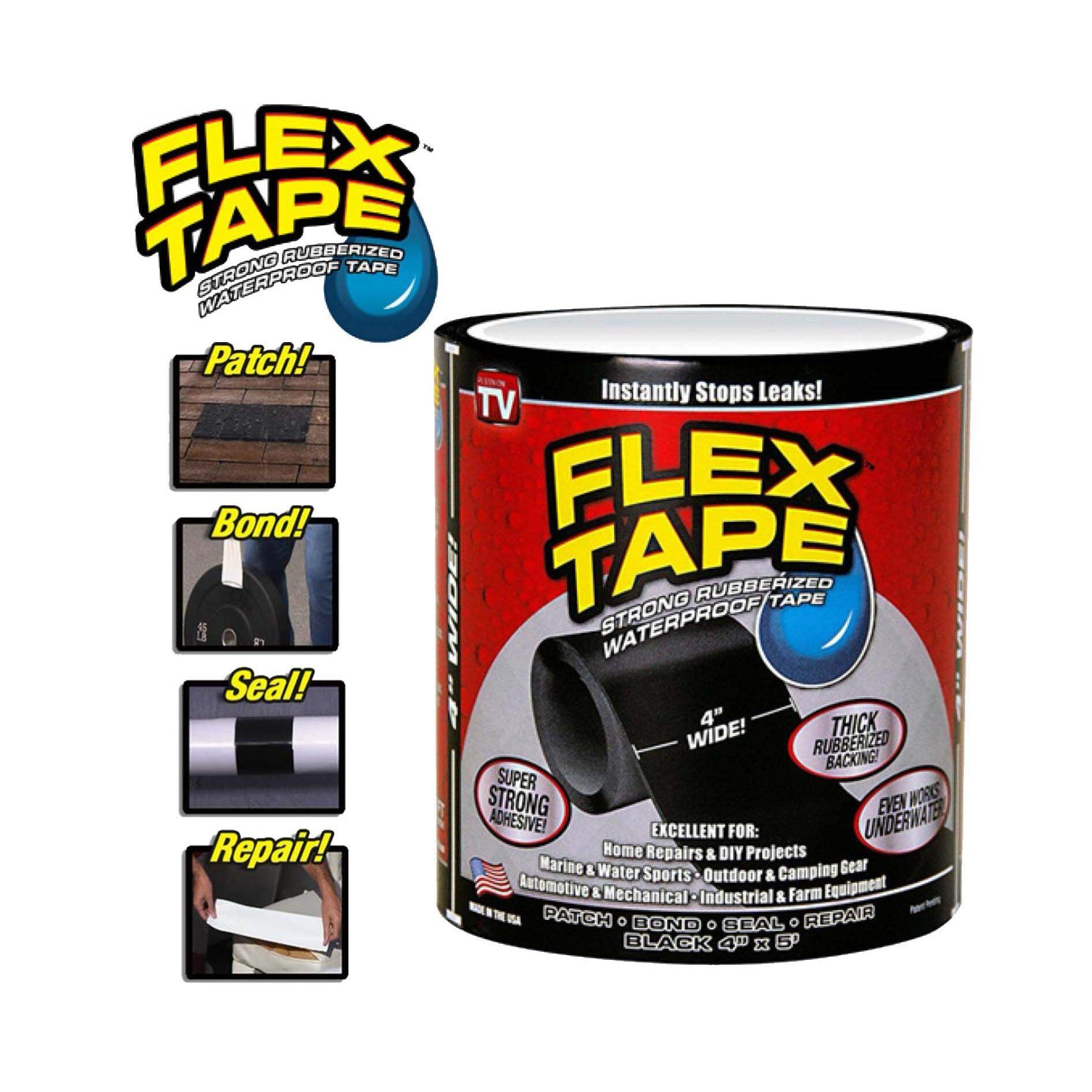 4 Wide Waterproof Seal Stop Leaks Tape By Snapid.