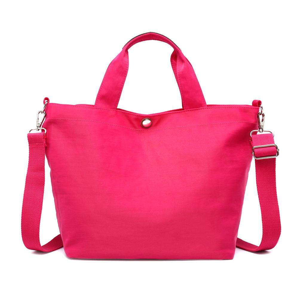 a579f3c3d718 New Style Women's Bag Waterproof Oxford Cloth Bag Simple Fashionable Candy Color  Single Shoulder Bag