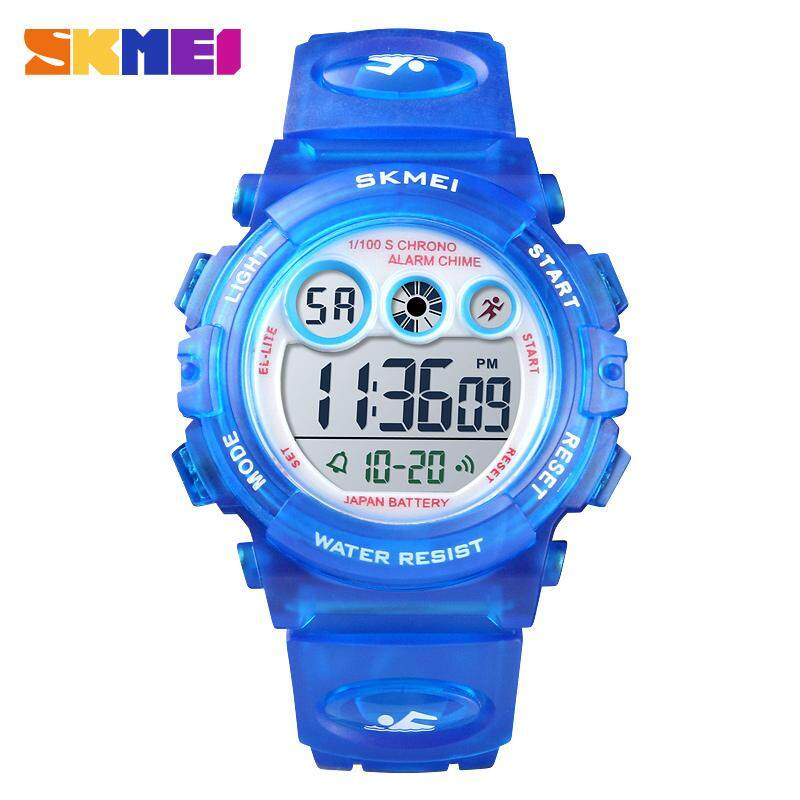 2018 SKMEI 1451 Fashion Waterproof Children Boy Girl Watch Digital LED Watches Alarm Date Sports Electronic Digital Watch Birthday Gift Malaysia