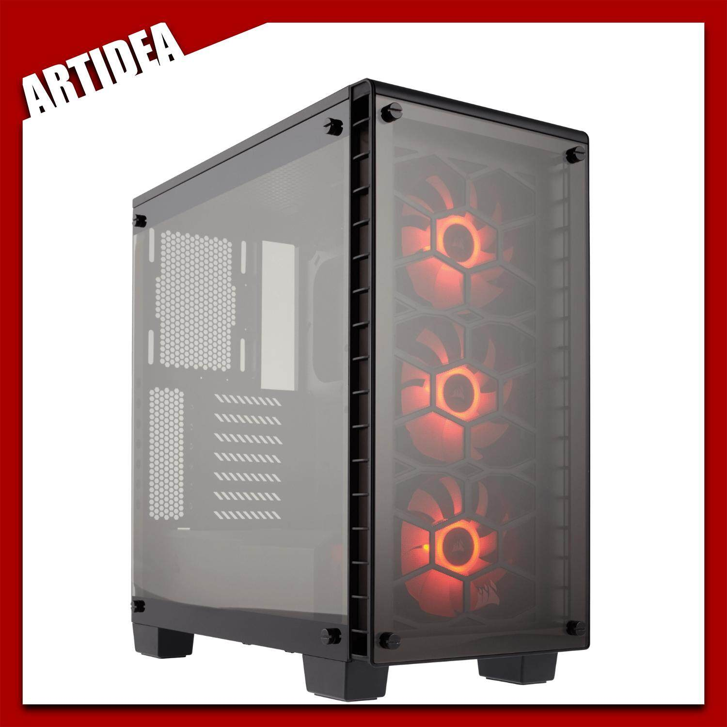 CORSAIR Crystal Series 460X Compact ATX Mid-Tower Case | CC-9011099 ARTIDEA Malaysia