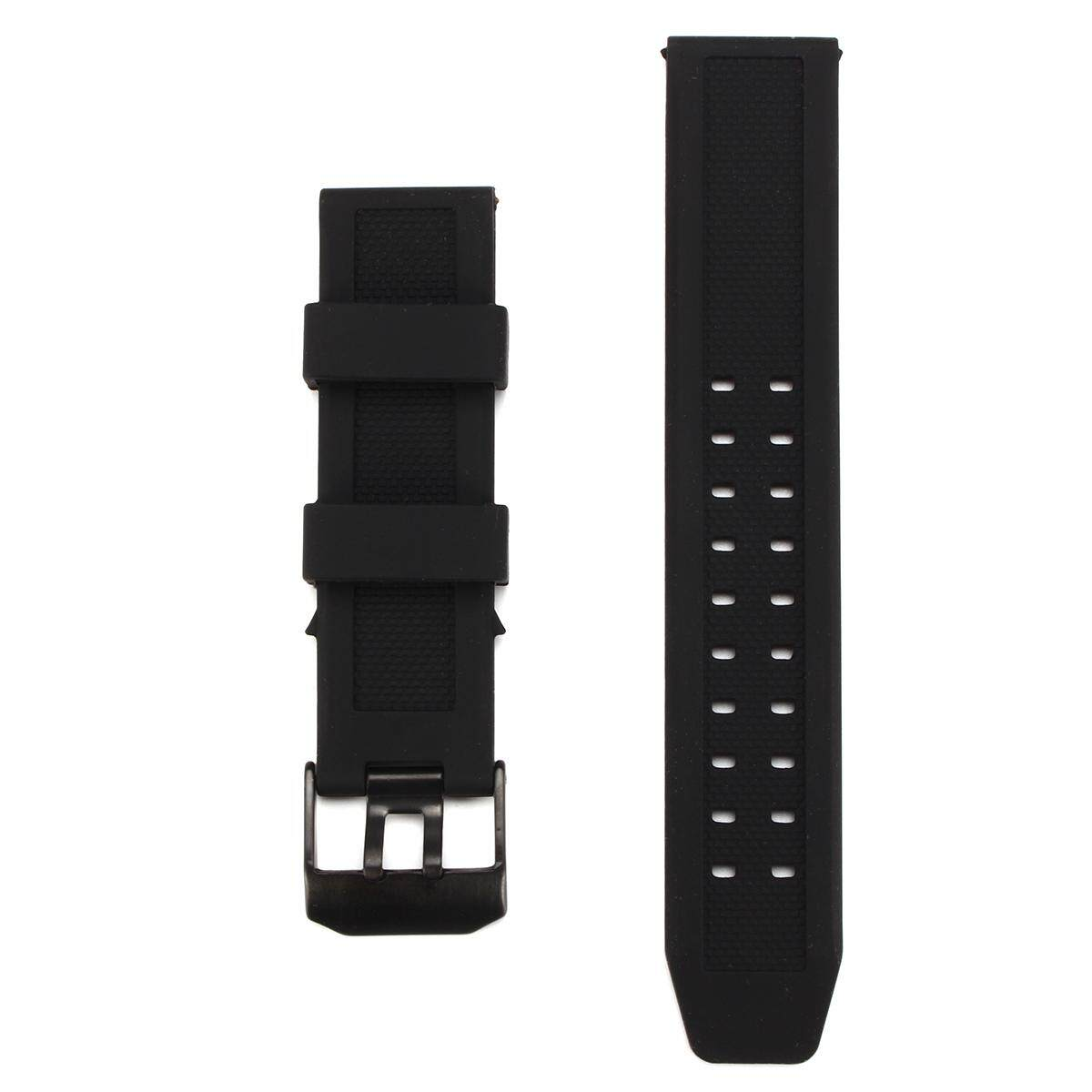 Replacement Rubber Wristwatch Band Watch Strap for Luminox 23mm FP.L.ES w/Buckle Malaysia