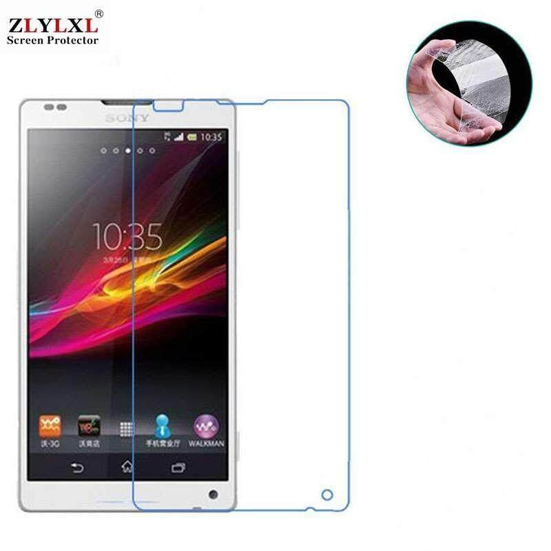 2 Pcs for Sony Xperia ZL / L35H tempered Glass glossy guard screen protector
