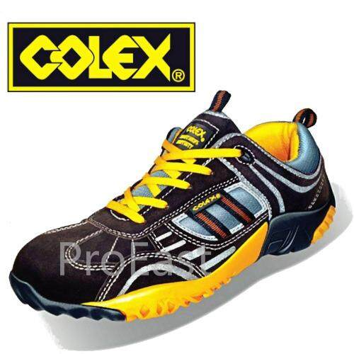 Colex Sly-500 Uk 10 Sporty Safety Shoes/ Kasut Inustrial 10 By Proeast.