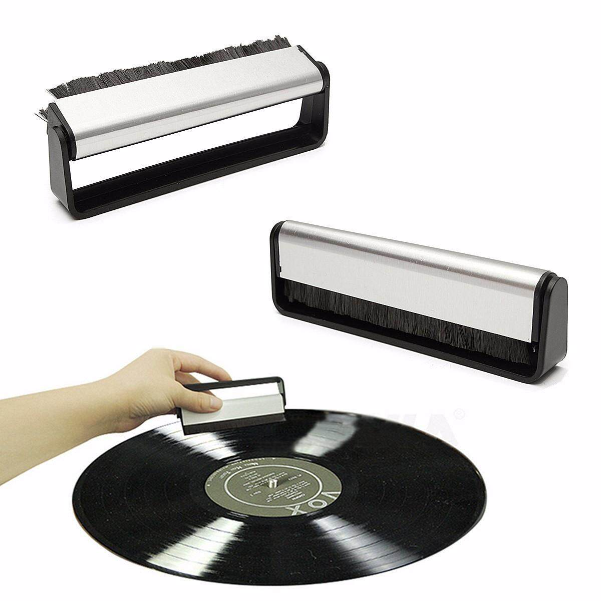 Anti-Static Vinyl Record Cleaning Cleaner Pad Brush Audio Stylus Dust Remover By Moonbeam.