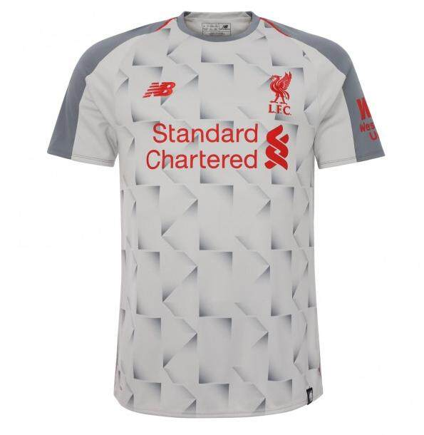 size 40 e6f24 98ae4 Liverpooll 3rd Kit Jersey 2018/2019 Epl 18/19 Football White Jersey Adult  By Ashik Store