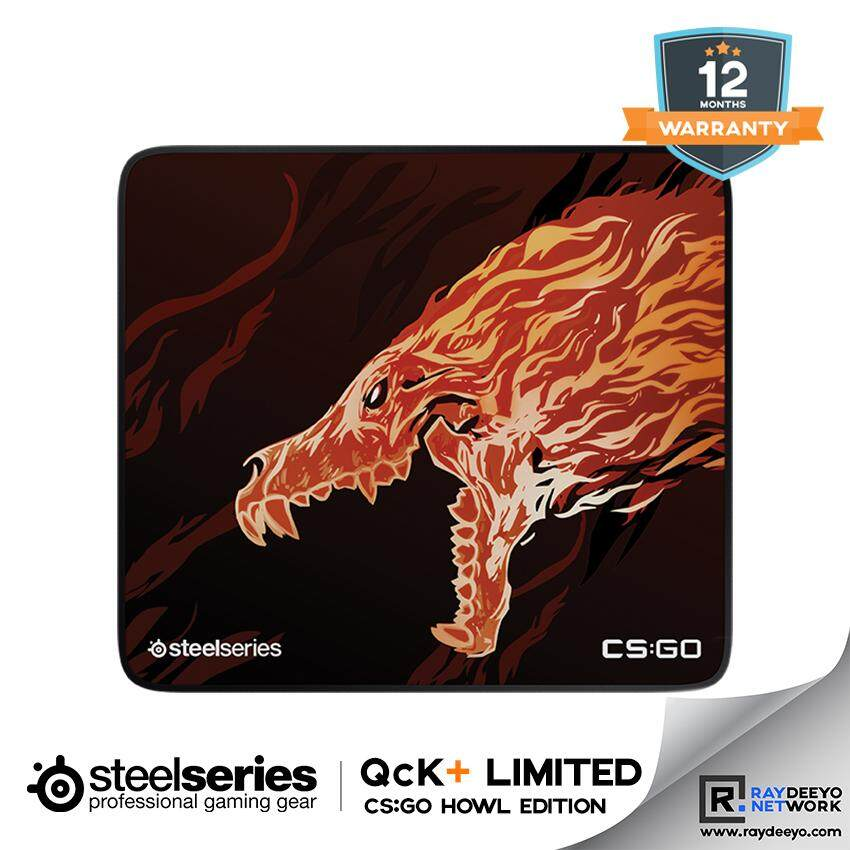 Steelseries QCK+ LIMITED CS:GO HOWL EDITION Gaming Mousepad [Limited CS:GO Howl Design] Malaysia