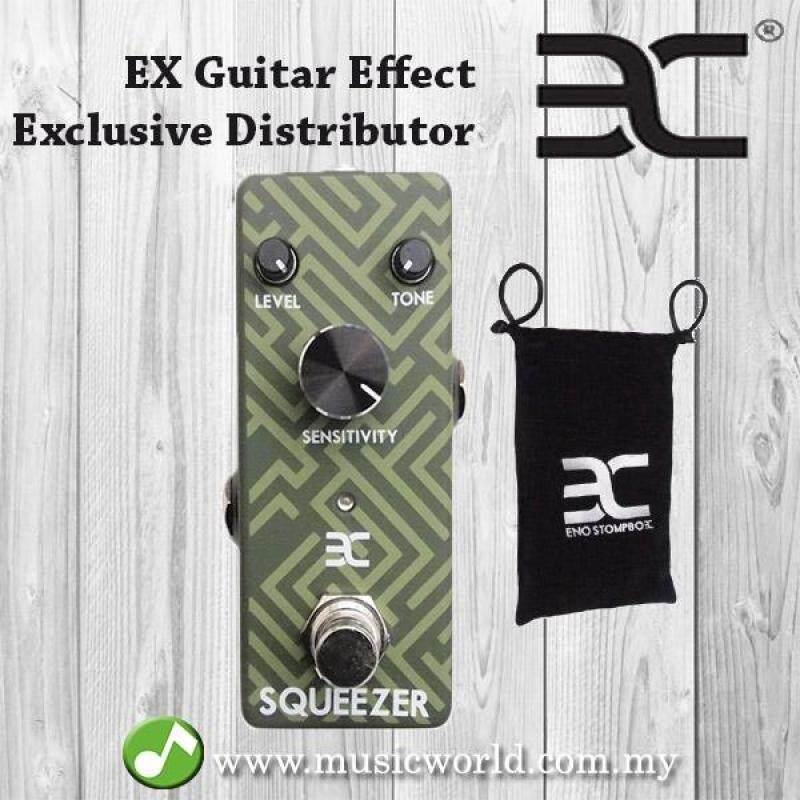 Eno EX Squeezer Compressor Electric Guitar Effect Pedal Malaysia