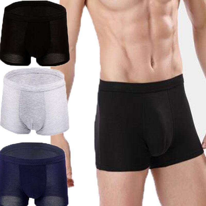 85e1c17d95c7 3 pcs Men Underwear Bamboo Fiber Cotton Boxers Briefs Comfort Soft Underwear  Underpants Microfiber Trunk for