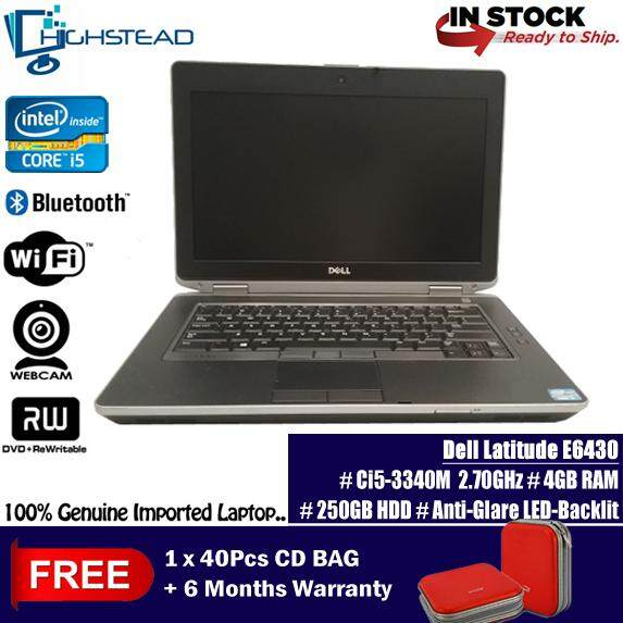DELL Latitude E6430 Ci5-3340M 2.70GHz 4GB 250GB 3rd GEN Notebook Refurbished Malaysia