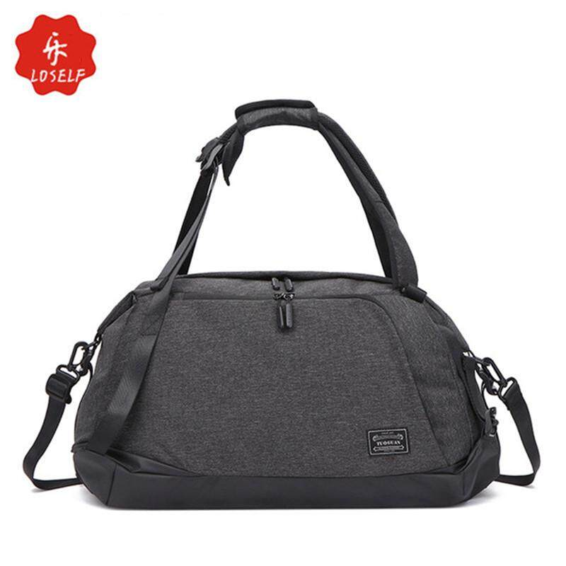 ed1a3867b LOSELF Waterproof Oxford Travel Duffle Bag Fashion Sport Gym Bag Casual  Outdoor Storage Bag Large Capacity